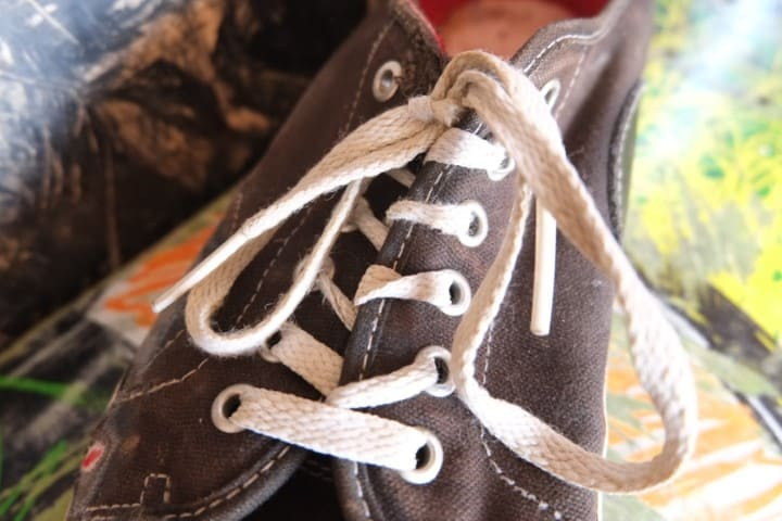 how to lace vans for skateboarding loose 8